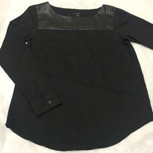 Ann Taylor Womens Long Sleeves Shirt